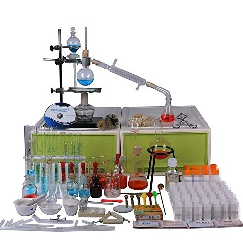 Laboratory Full Chemical Distillation Glass Equipment, used for sale  Delivered anywhere in USA