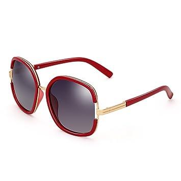 Sonnenbrillen ZHIRONG Polarisierte Licht-große Rahmen Art- und Weise, Sonnenschutzgläser, Outdoor-Reise-Schutzbrillen, (Farbe : B)