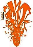 10 x Sets Harrows Rapide Orange Dart Flights Pear