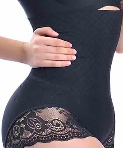 54822dd14 Women High Waist Tummy Control Underwear Body Shaper Panties Shapewear  Thong Slimming Butt Tifter Girdle Waisted