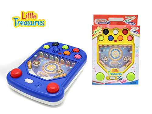 - Little Treasures A Fun and Exciting Hand Held Whack A Popping Style Pinball Game Station