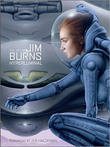 Book The Art of Jim Burns: Hyperluminal