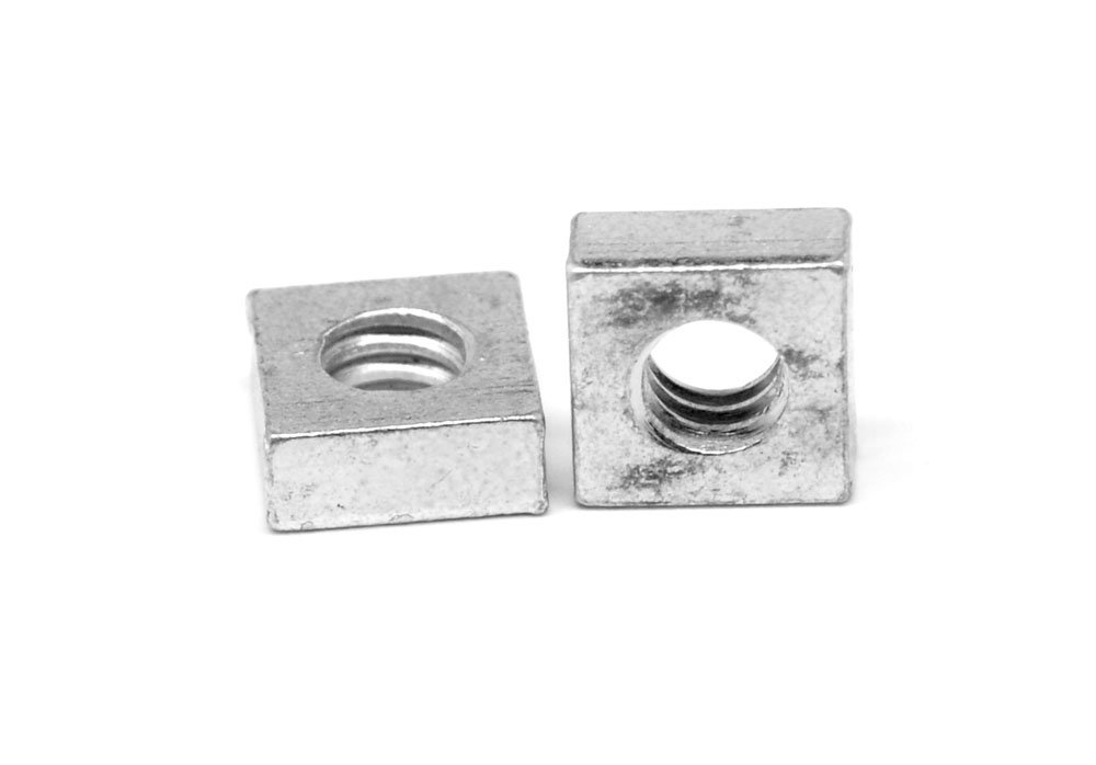 1//4-20 Coarse Thread Square Machine Screw Nut Stainless Steel 18-8 Pk 1500