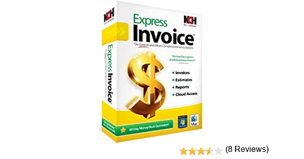 Amazoncom Express Invoice Professional Invoicing Software PCMac - Invoice cloud reviews