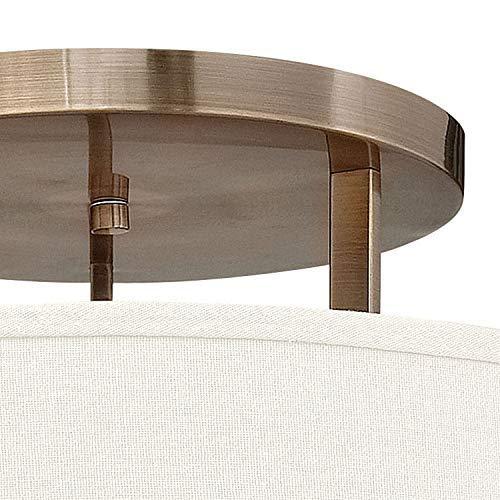 Amazon.com: Hampton grande estrecha con lámpara de techo de ...