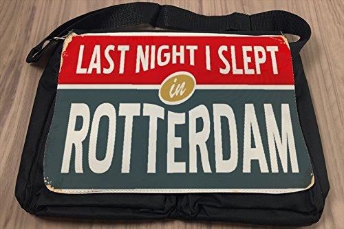 Borsa Tracolla Città Paesi Bassi Rotterdam Stampato