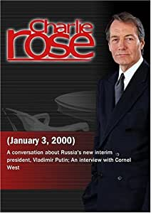 Charlie Rose with Michael McFaul, Leon Aron & Stephen Cohen; Cornel West (January 3, 2000)