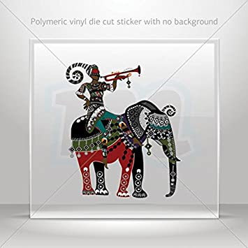 Sticker Decal india tradicional elefante Tablet portátil ...