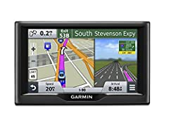 "With bright 5"" dual-orientation displays, spoken turn-by-turn directions and innovative features, the value-priced nüvi Essential Series are easy-to-use, dedicated GPS navigators that do not rely on cellular signals and are unaffected by cell..."