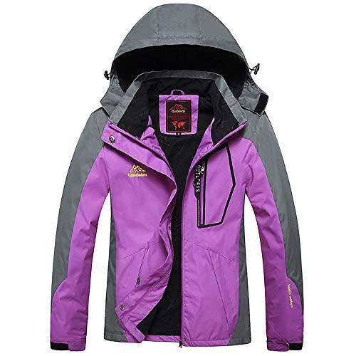 Amazon.com: NRUTUP Winter Jackets, Womens Hoodie Zipper Hat ...