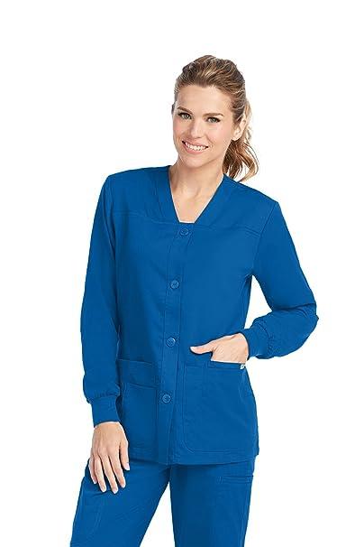 Anatomía de Grey - Parte de arriba de pijama con botones frontales para mujer - Azul
