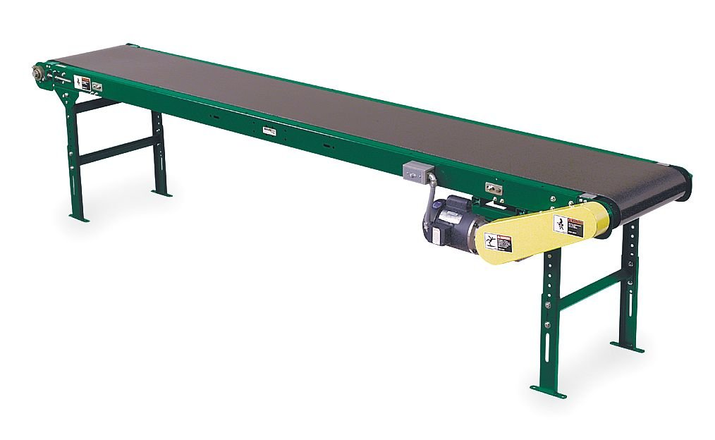 Ashland Conveyor - SB400 18B 21RE1/2A1 60TS M25 - Slider Bed Belt Conv, 21 Ft L, 22-1/2 In W by Ashland Conveyor