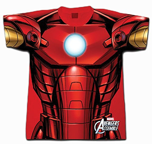 Digital Dudz Marvel Ironman Dye Sub Shirt (XX-large) ()