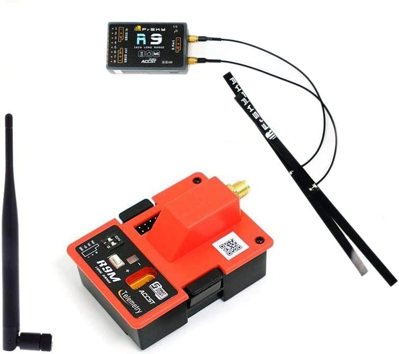 FrSky R9 900MHz 16CH Long Range Receiver and R9M Module Combo