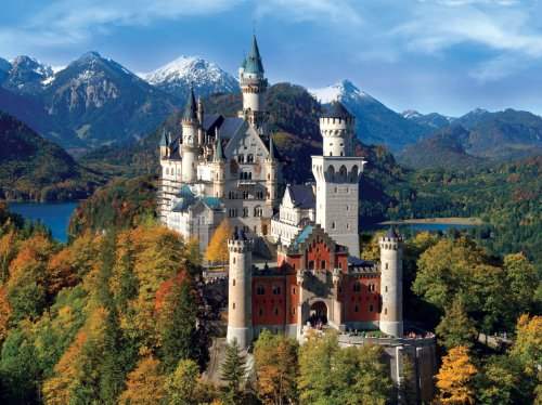 Buffalo Games Signature Collection: Neuschwanstein Castle 1000pc Jigsaw Puzzle