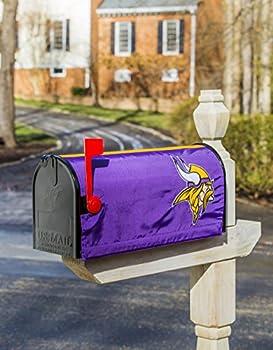 Nfl Minnesota Vikings 2mbc3817minnesota Vikings, Mailbox Cover, Purple 1