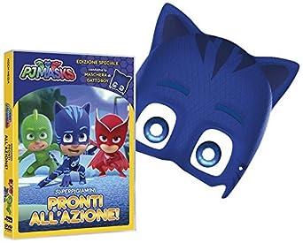 Pj Masks - Super Pigiamini Pronti AllAzione! (Gattoboy Edition) (Dvd+Maschera) [Italia]