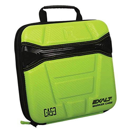 (Exalt Paintball Carbon Series Marker Case/Gun Bag - Lime )
