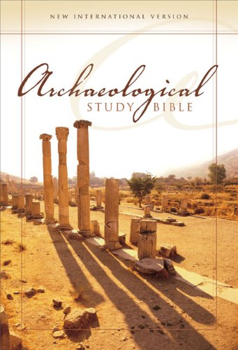 Download Archaeological Study Bible: An Illustrated Walk Through Biblical History and Culture (Burgundy) pdf epub