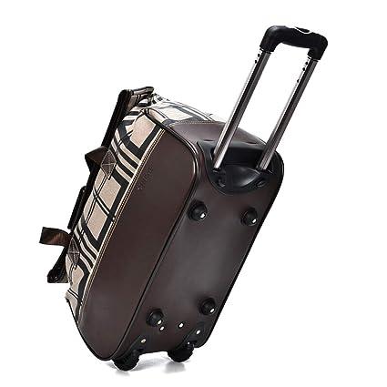 152ce0e89f17 Amazon.com: Minmin-lgx Luggage Rolling Duffel Bag Lightweight ...