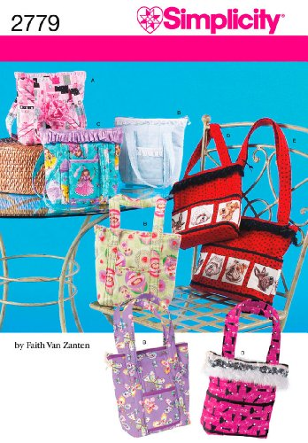 Simplicity Sewing Pattern 2779 Crafts, One Size (Bag Patterns Quilted)