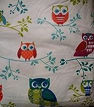 Vinyl Felt Backed Tablecloth Owl theme - Multiple Sizes (70 Round)