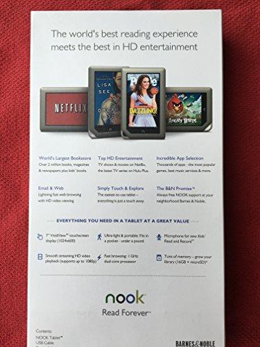 Amazon Barnes Noble Nook Tablet 16gb Color Bntv250