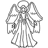 Quilting Creations Angel Quilt Stencil