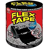 Flex Tape Pro by T0PDEALSUK Flexible Butyl All Weather Patch and Shield Repair Tape,Silicone Waterproof Sealing Tape Bonding Rescue Self Fusing Tape