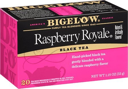 Bigelow Raspberry Royale Tea Bags - 20 ct (Pack of 2)