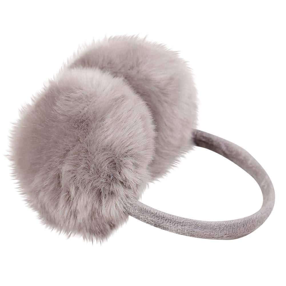 Nanxson Women//Girl Solid Color Plush Earmuff//Ear Muffle EZ0008