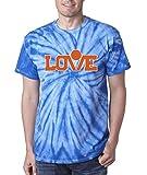"Silo Shirts TIE DIE BLUE Kevin Love Cleveland ""LOGO"" T-Shirt"