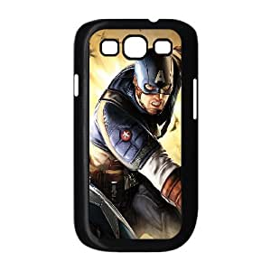 TOSOUL Phone Case Captain America Hard Back Case Cover For Samsung Galaxy S3 I9300