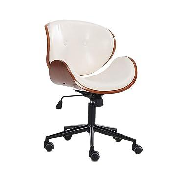 Sillón de oficina en casa Premium Sillas de oficina ejecutiva de diseño moderno con acolchado grueso