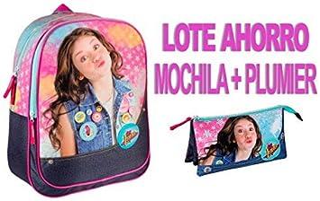 Soy Luna Mochila + PLUMIER: Amazon.es: Juguetes y juegos