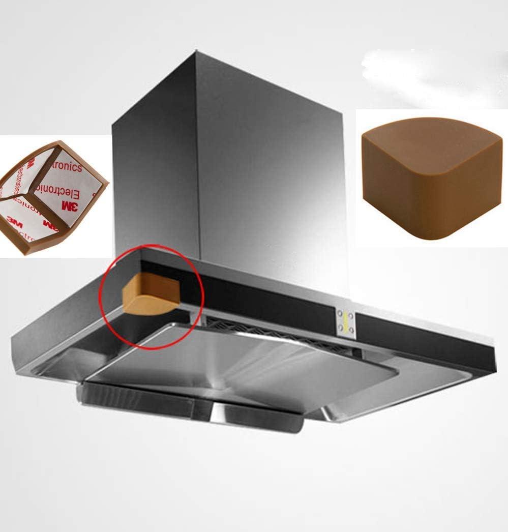 Protectores de esquina/cocina de pared para campana de seguridad, protector de bordes/protector de cabeza/gel adhesivo de alta resistencia/accesorios de campana de cobertor/protectores de muebles de seguridad para niños (2 unidades): Amazon.es: Bricolaje