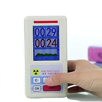 Yongse Geiger Counter Detector de Radiación Nuclear Dosímetro Personal Detector de Mármol: Amazon.es: Electrónica