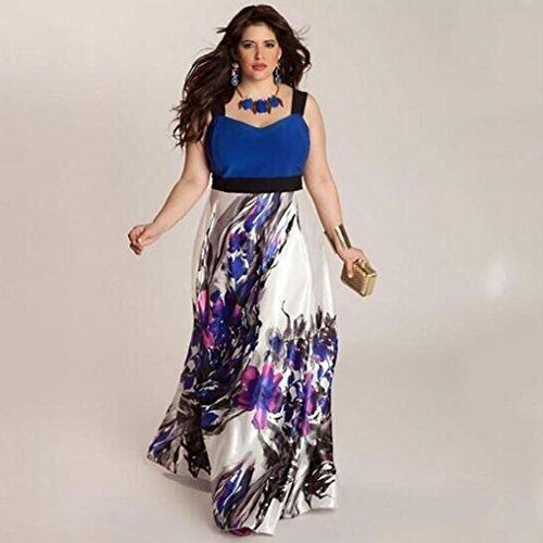 Kleid Transer® Damen Überdimensioniert Sleeveless Abendkleid ...
