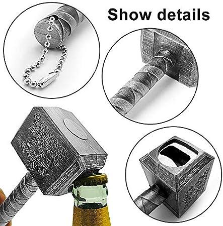Abridor De Botellas Creativo LLMZ 2 Pcs Abridor De Botellas Mini Llavero Abrebotellas Con Forma Puede Utilizar Para El Hogar Restaurante Bar Regalos Para Amantes De La Cerveza