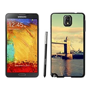 NEW Unique Custom Designed Samsung Galaxy Note 3 N900A N900V N900P N900T Phone Case With Tower Bridge London_Black Phone Case