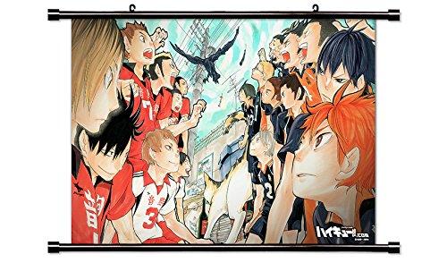 Haikyu!! Anime Fabric Wall Scroll Poster (32x20) Inches [ACT] Haikyu!!-2(L)