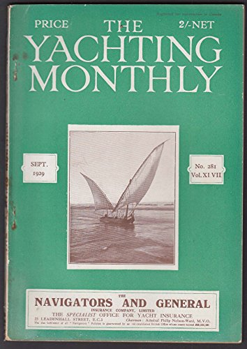 YACHTING MONTHLY Stella Maris; Hard Weather Racing in Miniature + 9 1929