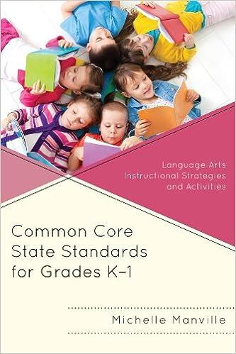 Amazon Common Core State Standards For Grades K 1 Language
