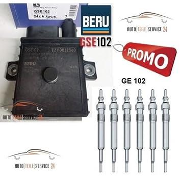 Glühkerzen BERU GSE102 Steuergerät für Glühzeit