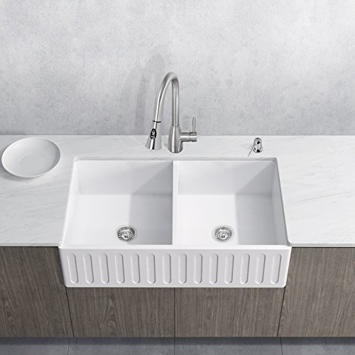 Double Bowl Console Sink - 6