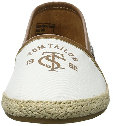 Espadrillas Tom Donna Basse white 2792010 Tailor 00002 Bianco EqSqROw