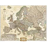 Europe Executive [Tubed] (National Geographic Reference Map)