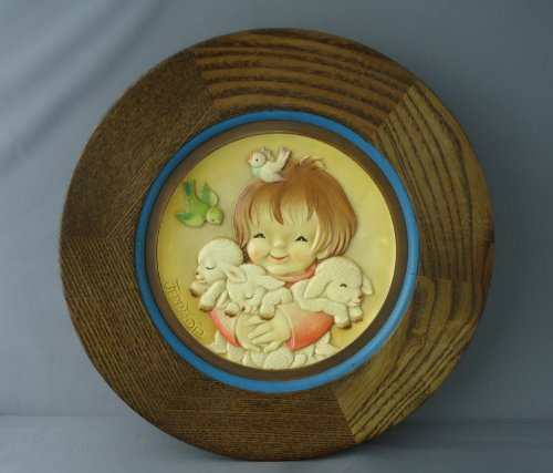 "Anri Ltd Edition Collector Plate - Mother's Day 1980 ""Spring Arrivals"" by Ferrandiz"