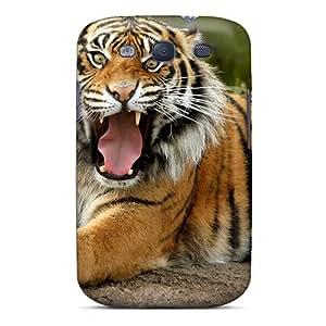 HaT12668rEju Sumatran Dangerous Tiger Awesome High Quality Galaxy S3 Case Skin