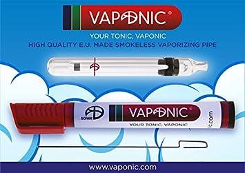 Portable Vaporiser Vapo vaporizer - VAPONIC - glass - dry herb herbal  aromatic - NO COMBUSTION